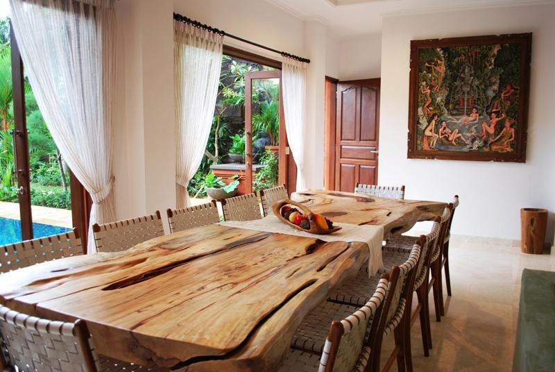 Table à manger - une œuvre d'Art