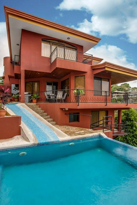 Great views from this deluxe villa