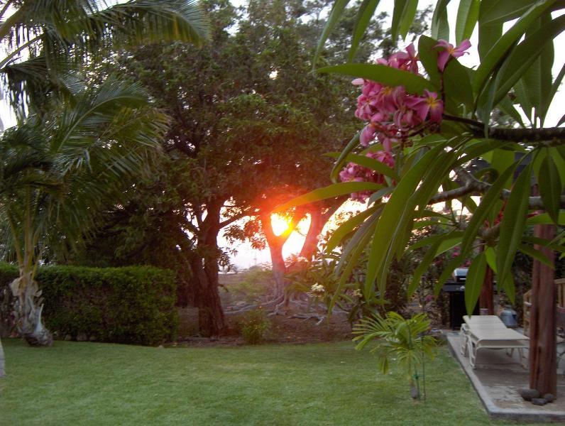 Coucher de soleil à Hale Lani