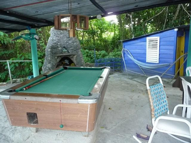 dine and shoot some pool