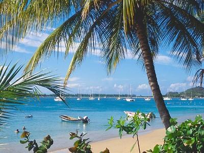 Nearest Reduit Beach - 10 minite walk from your suite