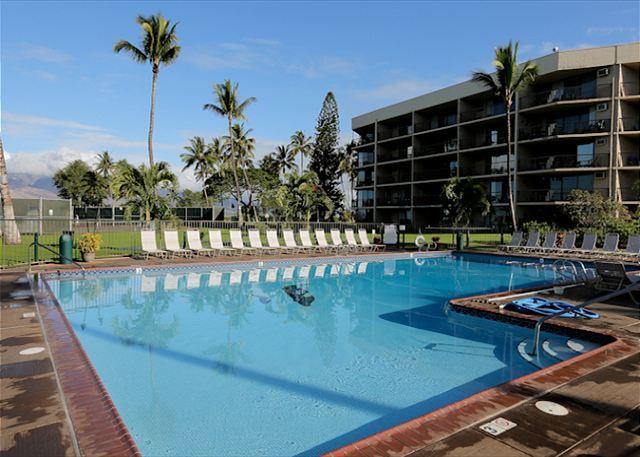 Maui Sunset #A-103 1Bd/2Ba, Oceanfront Complex, Ground Floor, Great Rates! – semesterbostad i Kihei