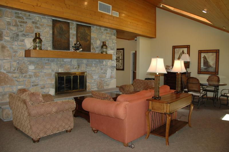 Lounge- Commons Fireplace