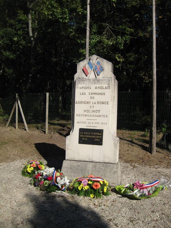 Site of crash of British bomber in WW2