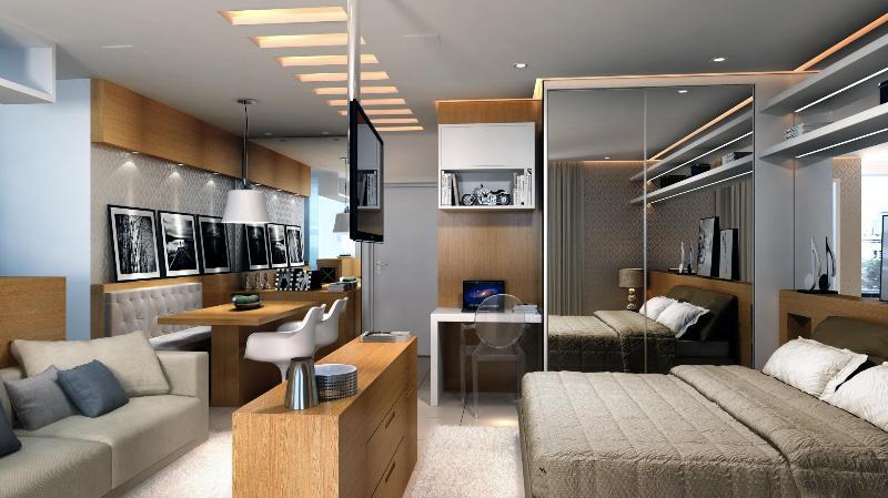 Luxury 1 Bed/1Bath - Berrini Brooklin / Itaim Bibi, holiday rental in Diadema