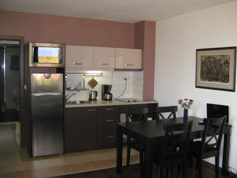 Apartment in Bansko, close to Gondola Lifts & Kempinski Hotel, location de vacances à Strumyani