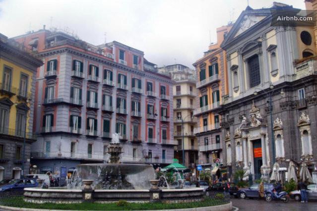 Meu B & B situa-se neste edifício do século XVIII