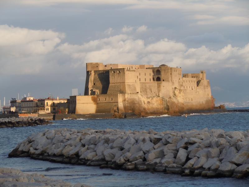 Castel dell'Ovo, 1 km. far from my B&B