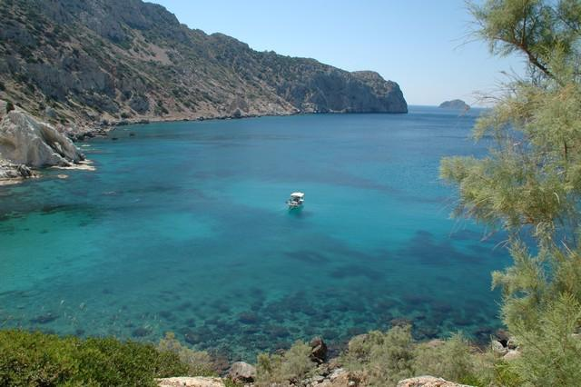 VKrini.One of the many wild-beautiful beaches of Chios, 'Vroulidia'.