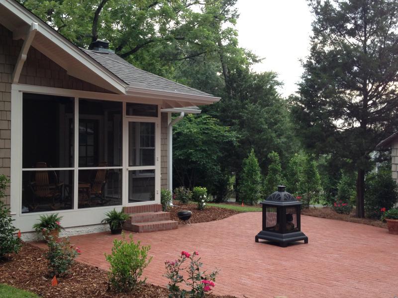 Patio et blindée Porch