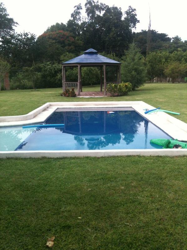 Swiming pool and kiosk