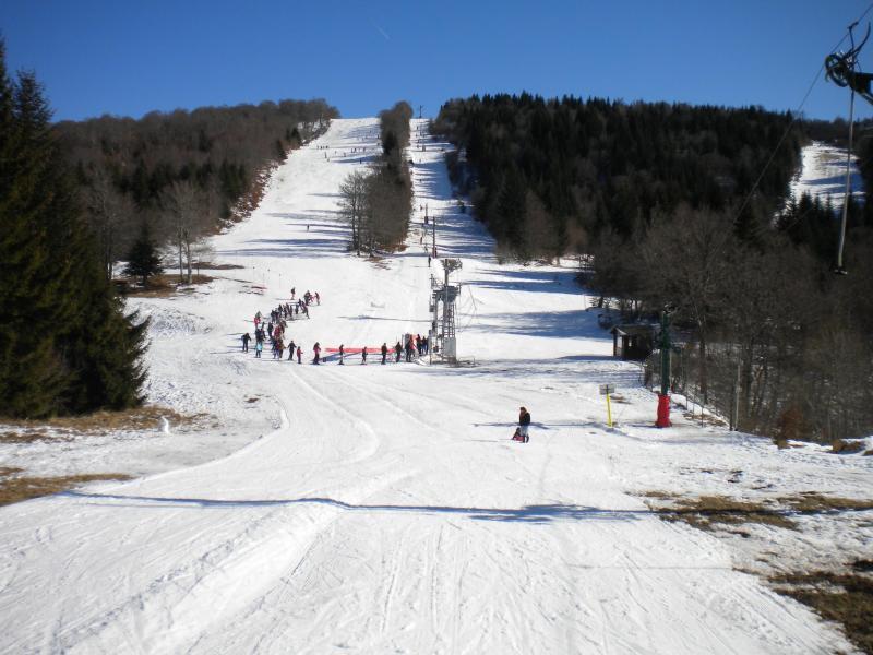 Ski à côté de la Résidence