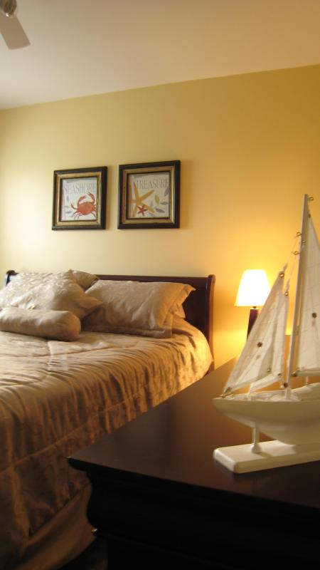 Dormitorio en atención 71 casa pagada a los detalles en cada cabaña