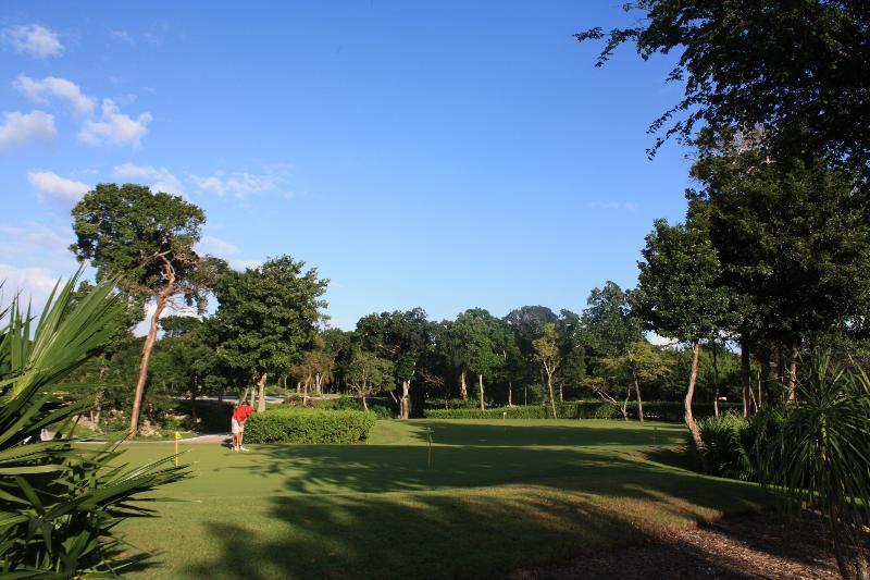 Unbeatable golf vistas