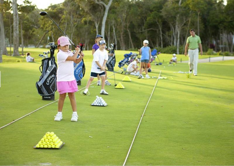 Kids golf education