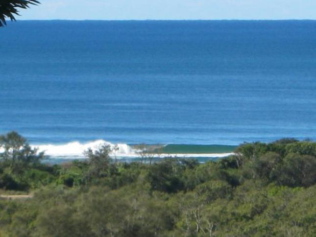 Surf-check from bedroom
