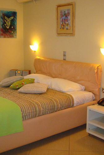 "Estúdio Duplo ""Ellinikon"" na cama A floor1 Kingsize Cozinha totalmente equipada - Frigorífico CD"