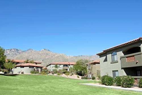 View of Catalina Foothills from Patio