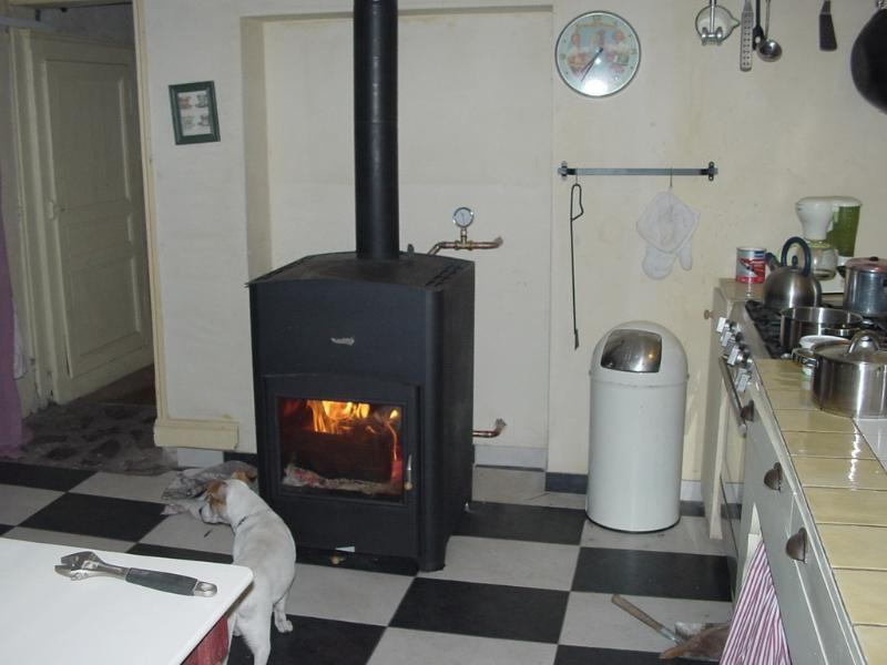 Central Heater in the kitchen