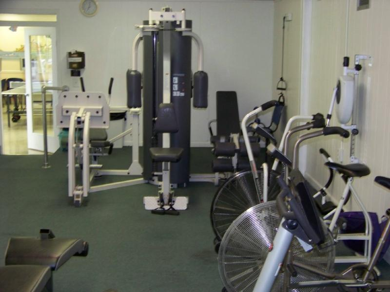 FItness room at the Rec center