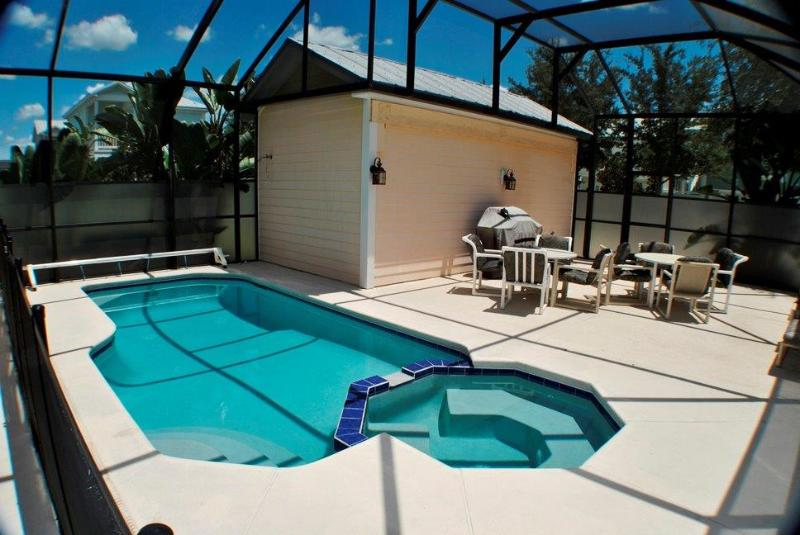 Backyard with In Groundd Pool
