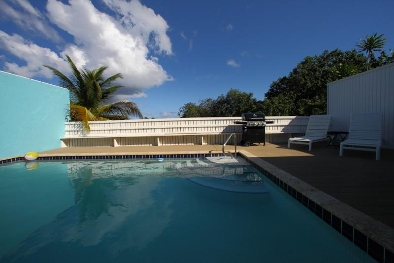 Spacious private pool 20' x 14'.