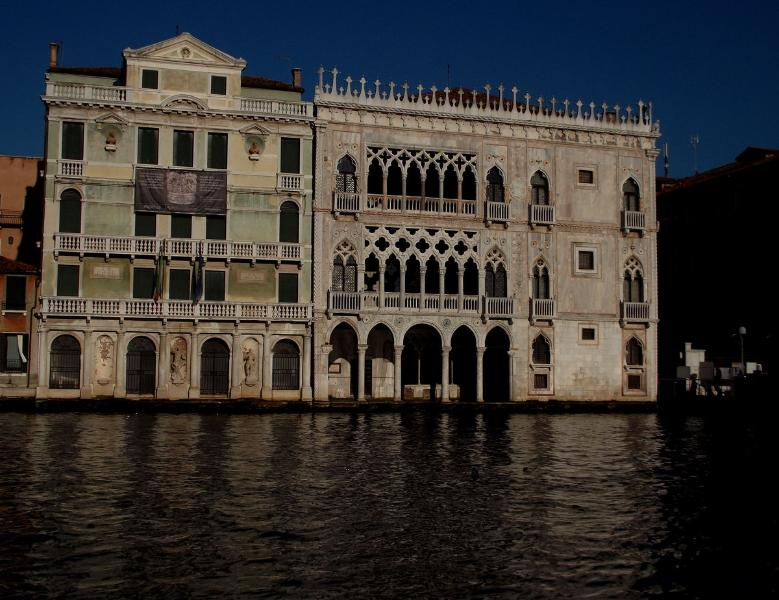 The Canal Grande in front of the Ca D'Oro (30 mt from Sinfonia Apartment)