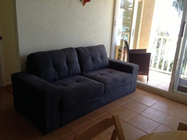 Living area- Sofa Bed