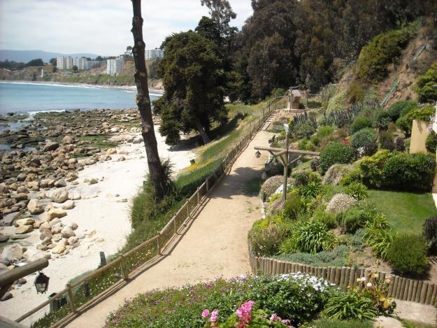 Trail on the beach - Sendero en la playa