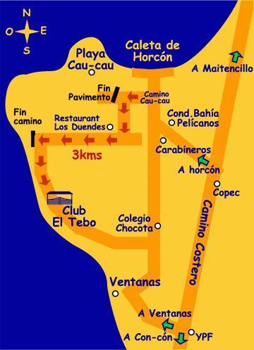 Local Map - Mapa Local