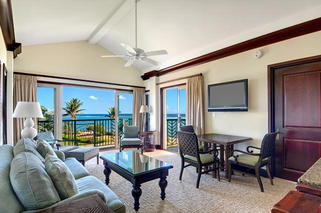Living Room Oceanfront View