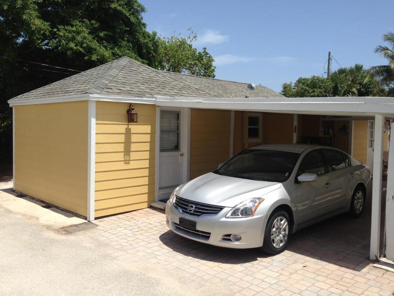 Carport parking and guest parking
