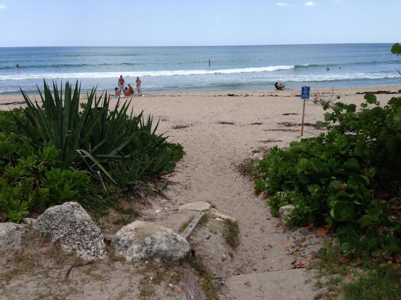 Accès à la plage à proximité