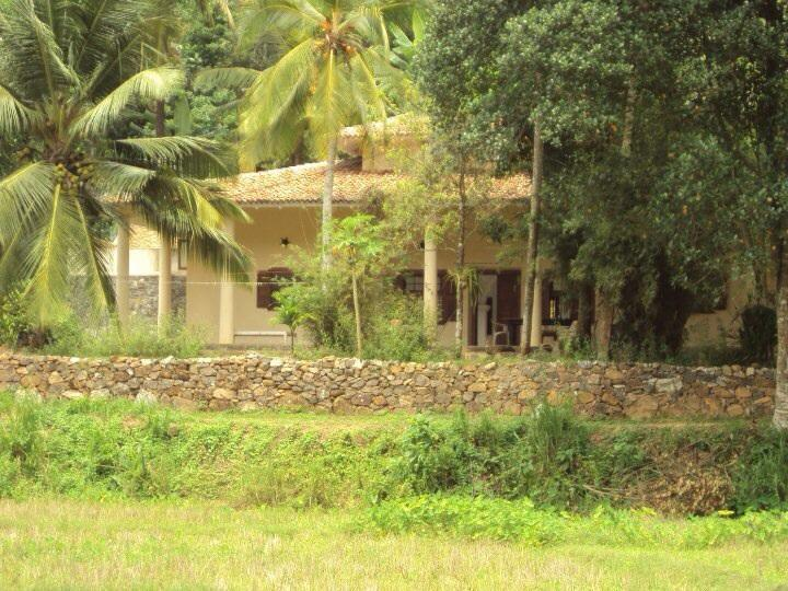 Villa from the road