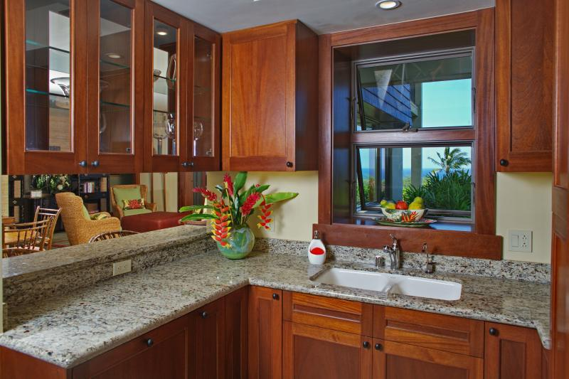 Granite Tops in Fully Furnished Kitchen