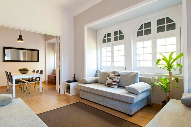 Sala de estar w / 3 sofás-cama (dormir 3)