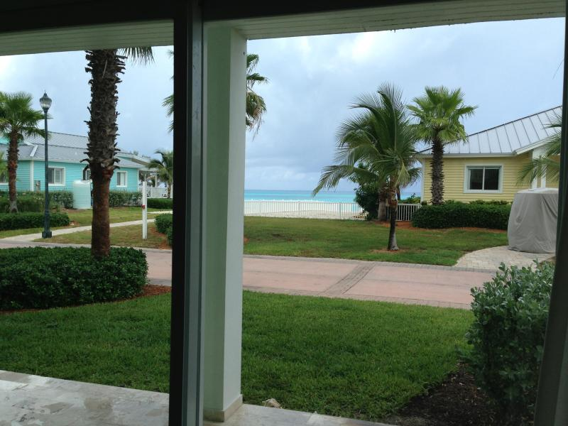 View from Master bedroom to ocean