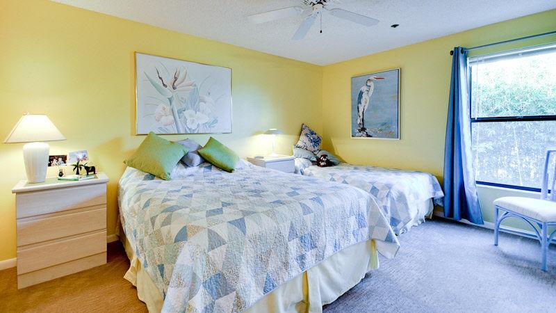 2e slaapkamer Queen & Twin bed