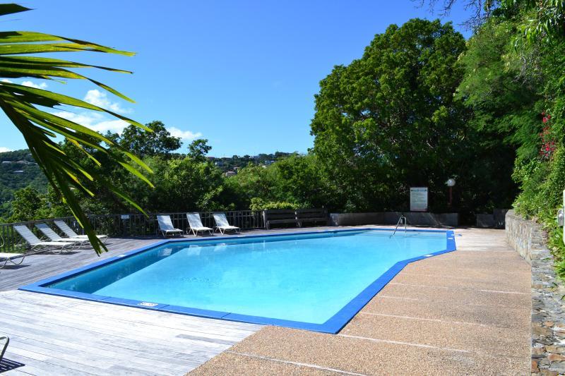 The upper pool