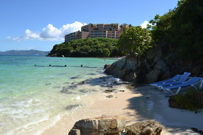 Another view of our private beach
