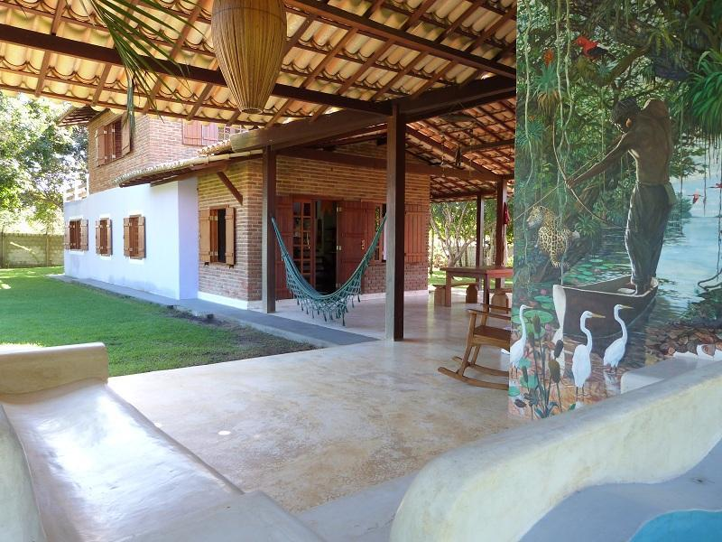 Beautiful big house and chalet 4000m2 full garden, alquiler de vacaciones en Ferndale