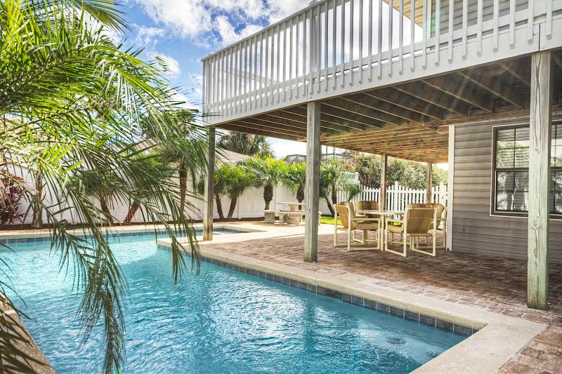 Pleasing Ocean View Private Pool Home St Augustine Beach No Busy Interior Design Ideas Clesiryabchikinfo