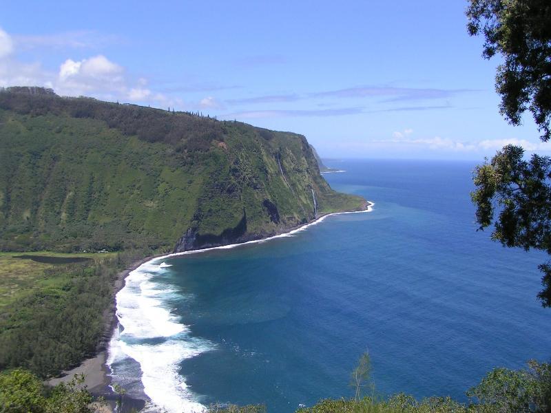 View of Waipio Valley from Waipio Valley Lookout
