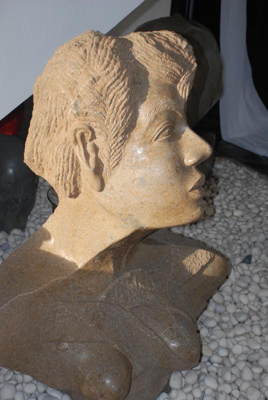 estatuas en villa