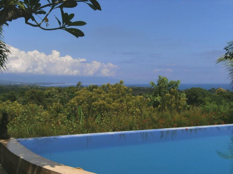 Lovely Swimming pool. open views to ocean and mountains