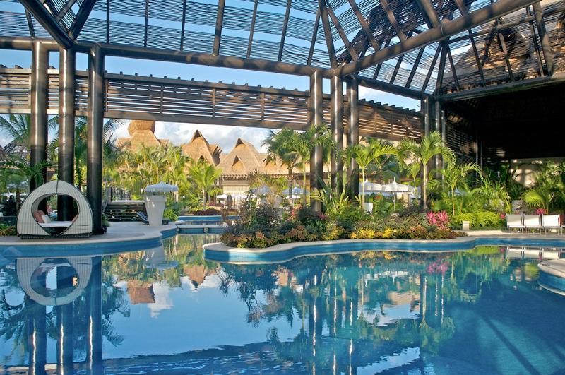 The Sanctuary Pool at Riviera Maya