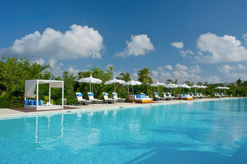 The Grand Luxxe Pool in Riviera Maya