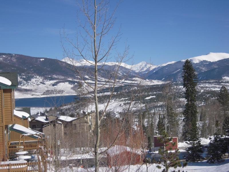Adjacent View of Lake Dillon and Continental Divide