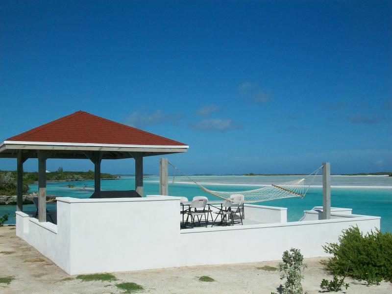 View from the gazebo and sundeck