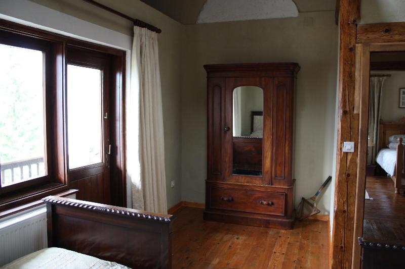 Bedroom 2 with stunning antique furniture